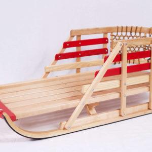 Traineaux pour enfants en bois